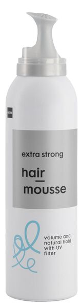 mousse cheveux extra strong 200 ml - 11077103 - HEMA