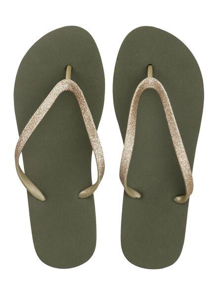 women's slippers green green - 1000007850 - hema