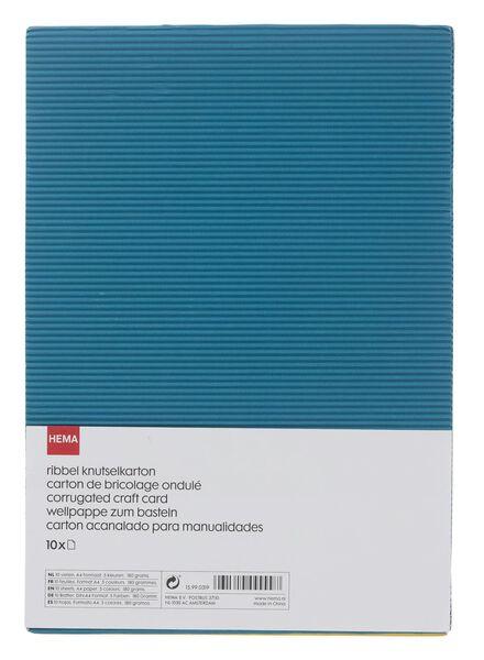 carton de bricolage côtelé A4 - 15990319 - HEMA