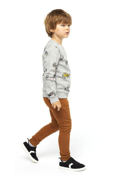 sweat pour enfant jeep gris chiné gris chiné - 1000020843 - HEMA