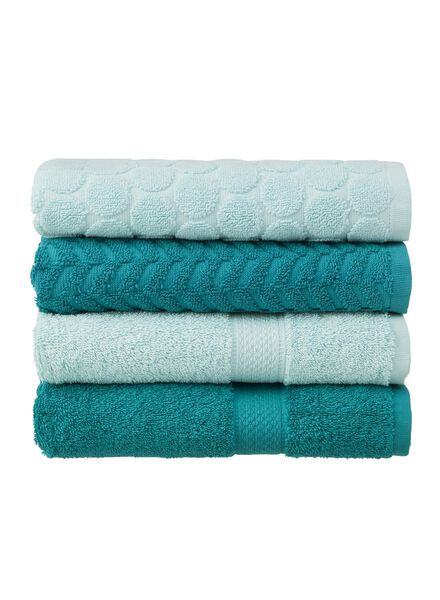 towel - 50 x 100 cm - heavy quality - mint green dotted mint green towel 50 x 100 - 5240174 - hema