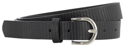 women's belt structure black black - 1000021084 - hema