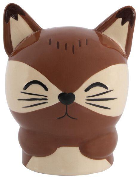 Image of HEMA Money Box 13x10x9 - Ceramic Fox