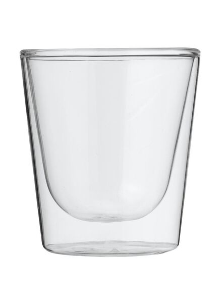 doppelwandiges Glas – 150 ml - 80682132 - HEMA
