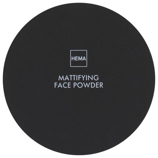 mattifying facial powder 24 soft beige - 11290154 - hema