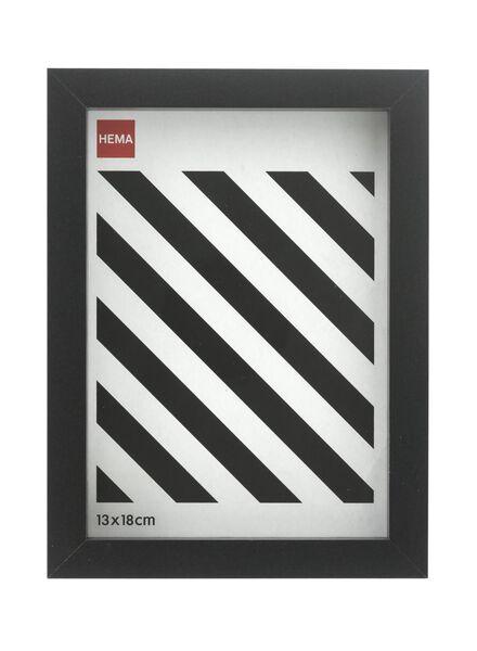 photo frame 13 x 18 - wood black 13 x 18 black - 13691019 - hema
