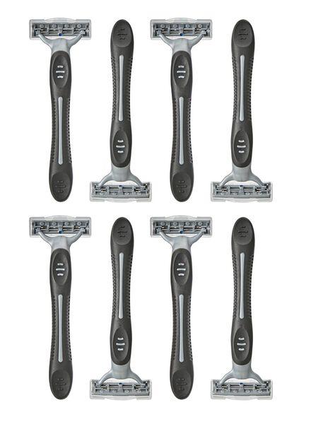8 men's disposable razors - 11700123 - hema