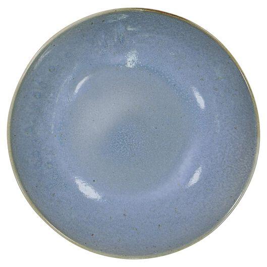 assiette creuse - 21 cm - Porto - émail réactif - bleu - 9602023 - HEMA