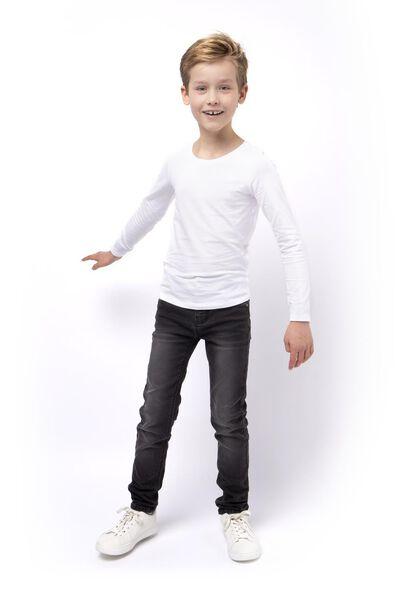 Kinder-Jogdenim, Skinny Fit schwarz schwarz - 1000003939 - HEMA