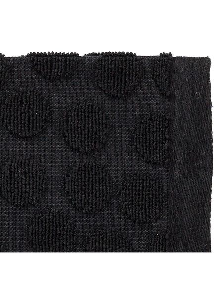 kitchen towel 50 x 50 cm keukendoek black - 5440248 - hema