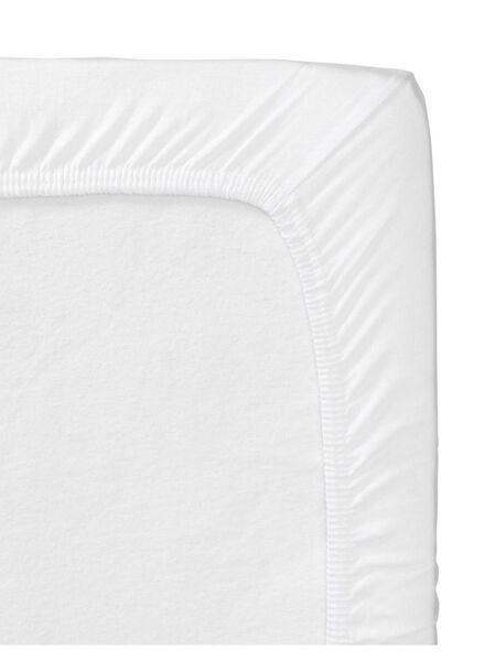 Image of HEMA 2-pack Crib Fitted Sheets 60 X 120 Cm (white)