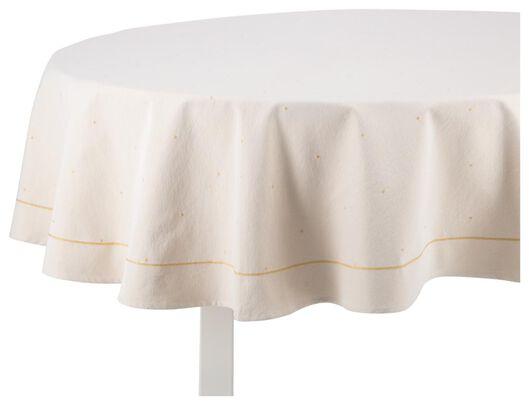 tablecloth cotton Ø180 Christmas - 5420016 - hema