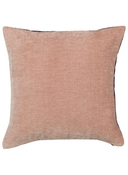 cushion cover - 50x50 - velvet - pink - 7392025 - hema