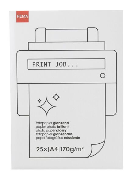 glossy fotopapier - 38340083 - HEMA