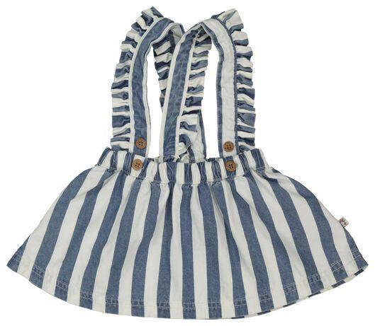 Babykleiderroecke - HEMA Baby Latzkleid Jeansfarben - Onlineshop HEMA