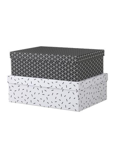 2-pack cardboard boxes - 39880210 - hema