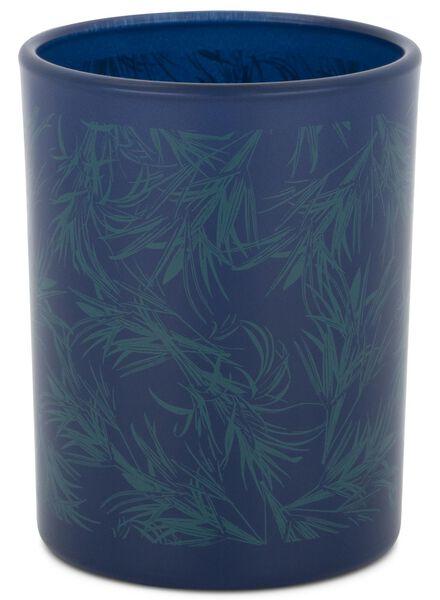 candle vase - Ø 7 cm - blue - 13502426 - hema