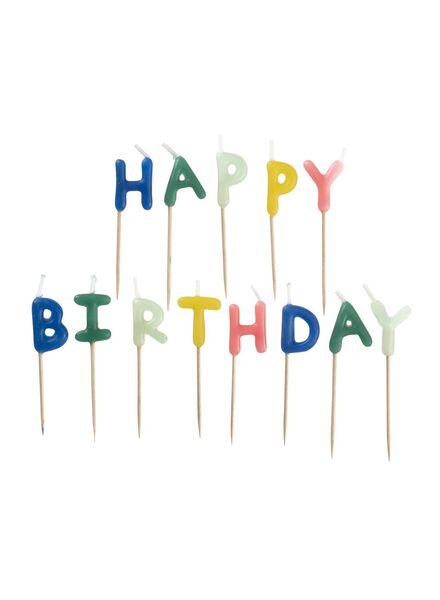 cake candles happy birthday - 14230051 - hema