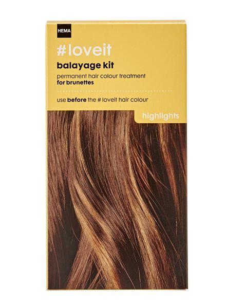 kit balayage brunettes - 11030005 - HEMA