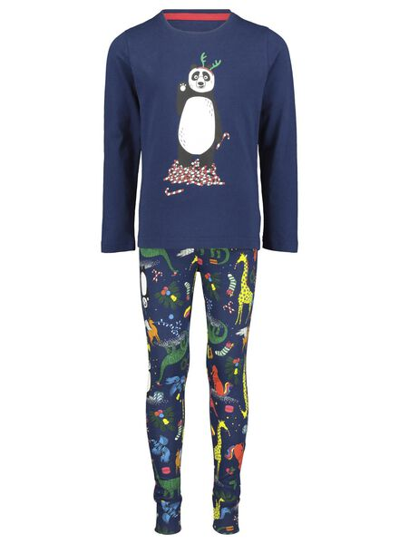 children's pyjamas Christmas blue blue - 1000016978 - hema