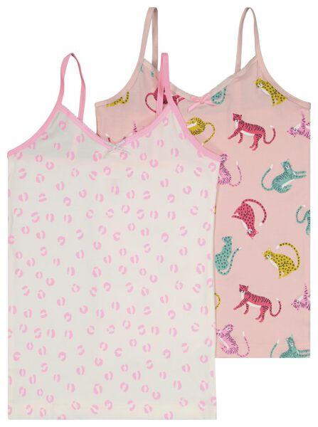 2er-Pack Kinder-Hemden hellrosa 146/152 - 19346106 - HEMA