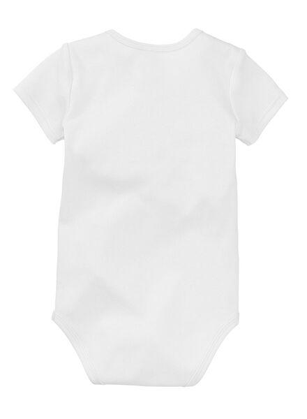 body - coton blanc 74/80 - 33383433 - HEMA