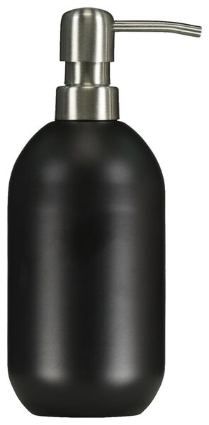 distributeur de savon inox noir - 80300137 - HEMA