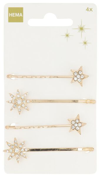 4 hairpins glitter - 11870125 - hema