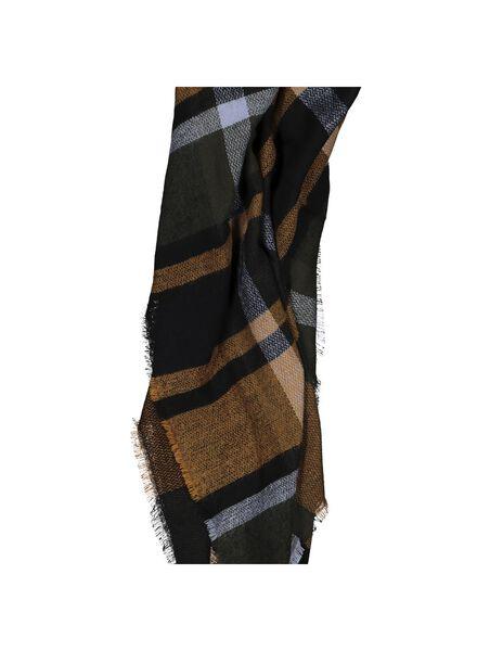 women's scarf chequered 120x120 - 16450517 - hema