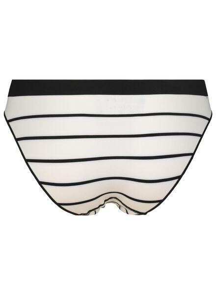 women's briefs seamless micro black/white black/white - 1000015706 - hema