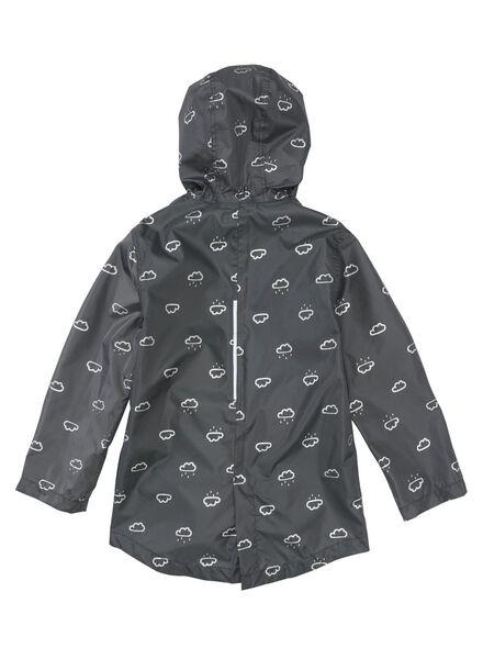opvouwbare kinderregenjas grijs grijs - 1000006273 - HEMA