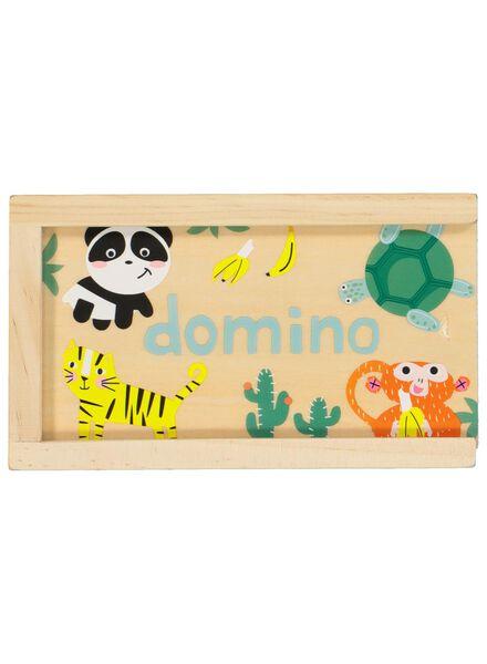 wooden dominoes - animals - 15190045 - hema
