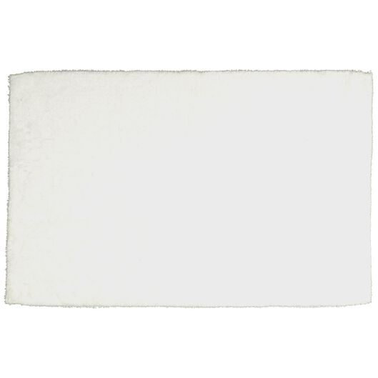 tapis de bain - 50 x 85cm - qualité hôtel très douce - blanc - 5210003 - HEMA