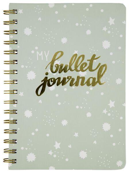 Bullet-Journal, DIN A5, grün - 14590240 - HEMA