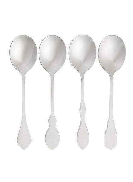 4-pack teaspoons - 9905044 - hema