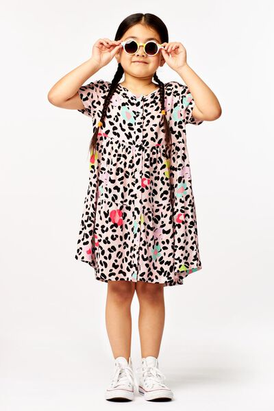 robe enfant animal rose - 1000023695 - HEMA