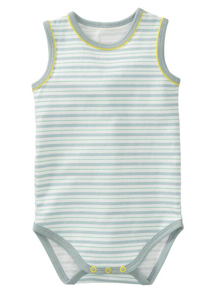 baby bodysuit organic cotton light green light green - 1000007332 - hema