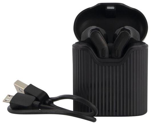 écouteurs sans fil noir - 39630154 - HEMA