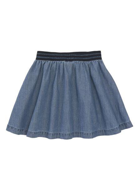 Kinder-Rock jeansfarben - 1000011220 - HEMA