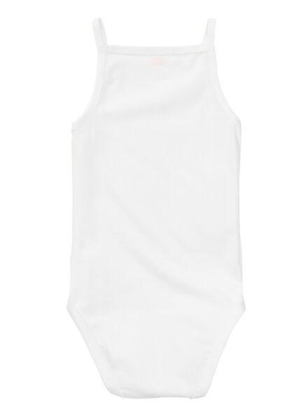 Zwei Bodys - Bio-Baumwollstretch weiß weiß - 1000005195 - HEMA