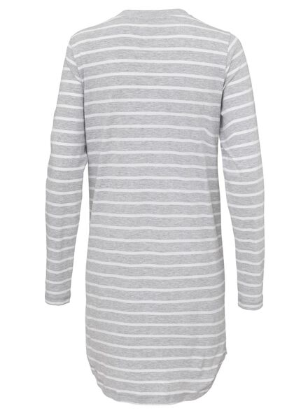 women's nightdress grey melange grey melange - 1000006655 - hema
