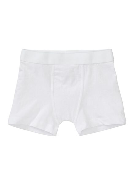 3-pack children's boxers white white - 1000001254 - hema