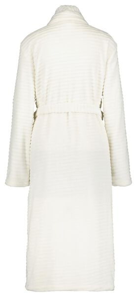 women's bathrobe fleece white white - 1000020262 - hema