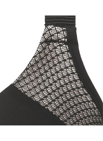 padded bra D-F cup micro black black - 1000006606 - hema