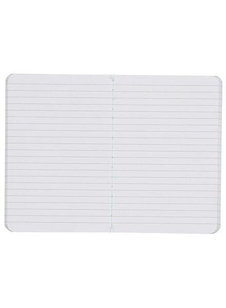 3 cahiers 14,5x10-lignés - 14122253 - HEMA