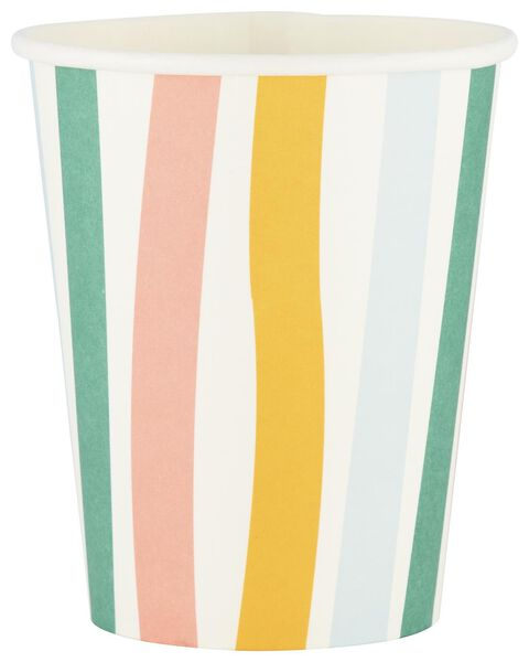 8 gobelets en papier 250 ml - 14210101 - HEMA