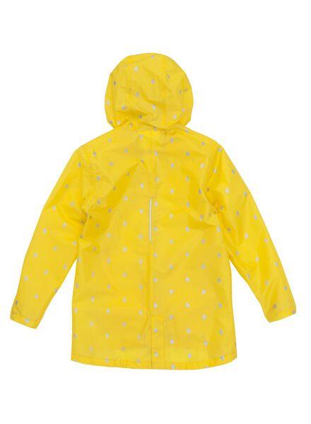 unisex children's raincoat yellow yellow - 1000006229 - hema