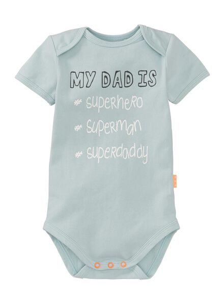 baby bodysuit light green light green - 1000007383 - hema