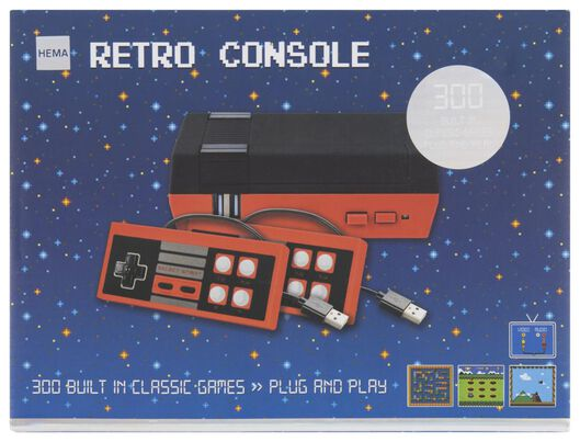 Image of HEMA Retro Game Console