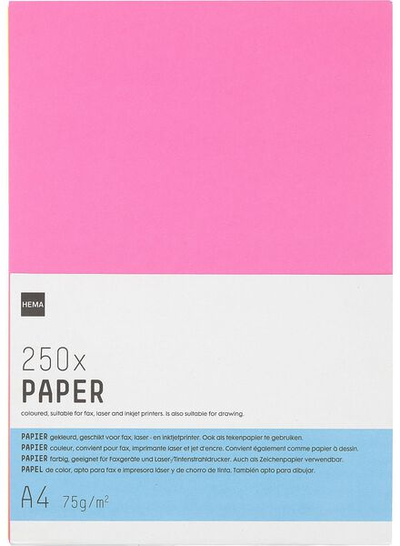 Neon Copying Paper